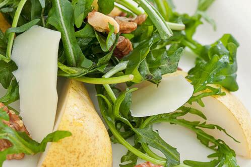 Rezept Birnenstifte mit Rucola