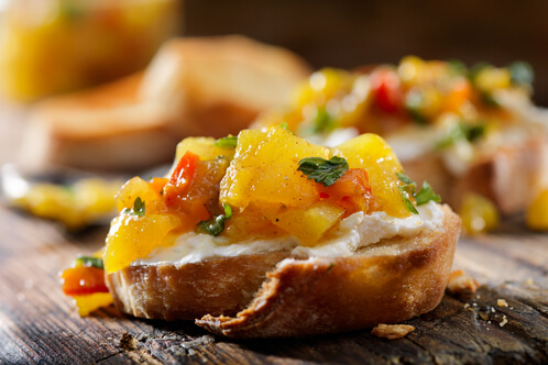Rezept Ingwer Frischkäse mit Mango