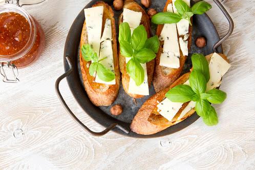 Rezept Gorgonzola-Bruschetta