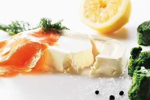 Rezept California in Lachs-Spinat-Rolle