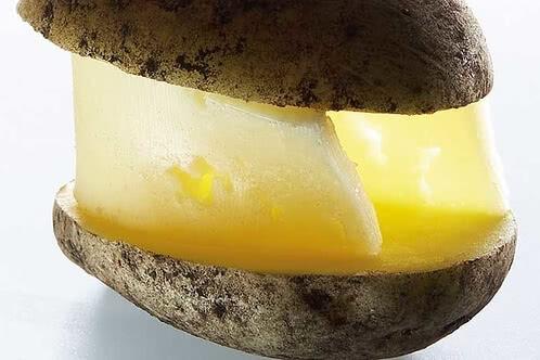 Rezept Gefüllte Kartoffel mit Edamer