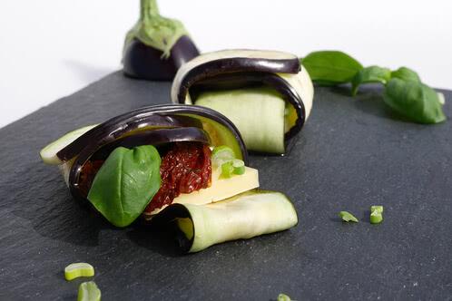 Rezept Gegrillte Auberginen-Päckchen