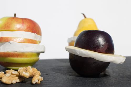 Rezept Grill-Obst mit Camembert
