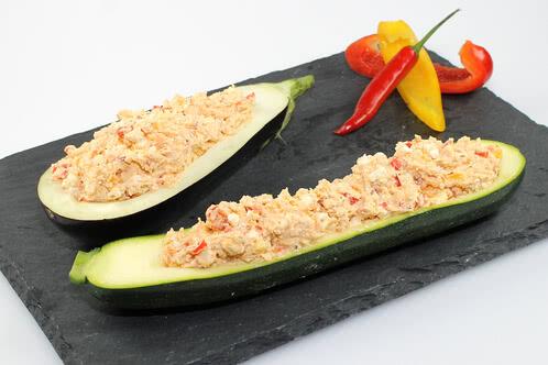 Rezept Feta-Creme in Zucchini